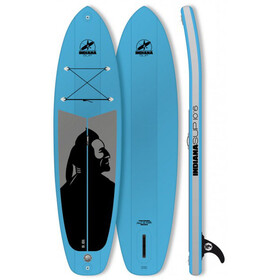 Indiana SUP 10'6 Family Inflatable Sup Pack with 3-Piece Fibre/Composite Paddle Blue